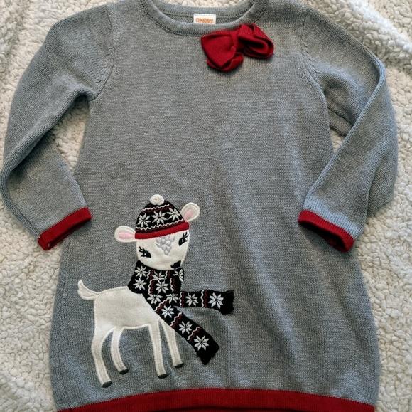 """NWT GYMBOREE /""""GARDEN FRIENDS/""""  Sweater derss 10 sizes 5"""